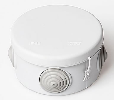 Тусо.Коробка расп. для о/п, D=80мм, Н=50мм (белая (Артикул ...: http://www.galla-cable.ru/Tuso.Korobka_rasp._dlya_o-p._D%253D80mm._N%253D50mm_belaya